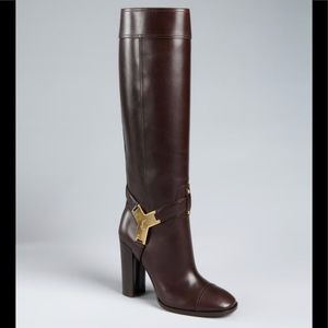 YSL Yves Saint Laurent Ridding Boots Thelma